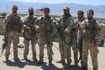 הצוות של סגן מרפי באפגניסטן