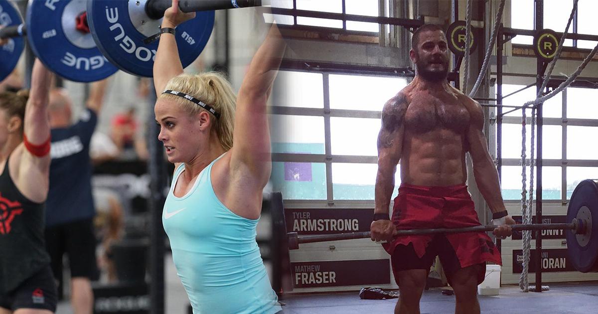 Matt Fraser & Sara Sigmundsdottir - CrossFit Games Athletes