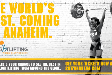 World Weightlifting Championship Anaheim 2017