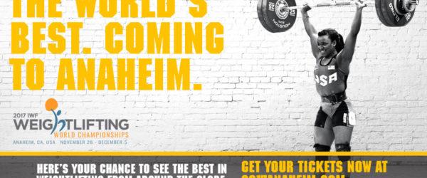 World Weightlifting Championship Anaheim 2017