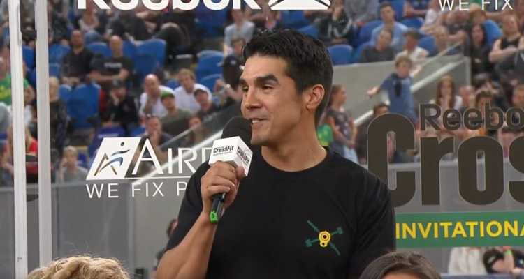 Dave Castro on the CrossFit Invitational 2017 Cooldown Show